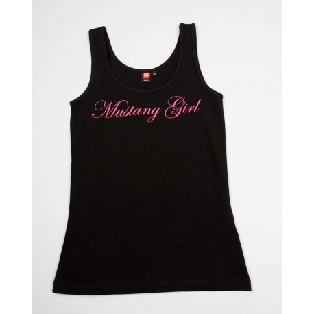 "STRETCH TOP ""MUSTANG GIRL"""