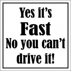 Yes it's fast